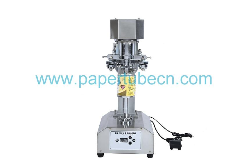 Silver Stainless Steel Can Sealing Machine