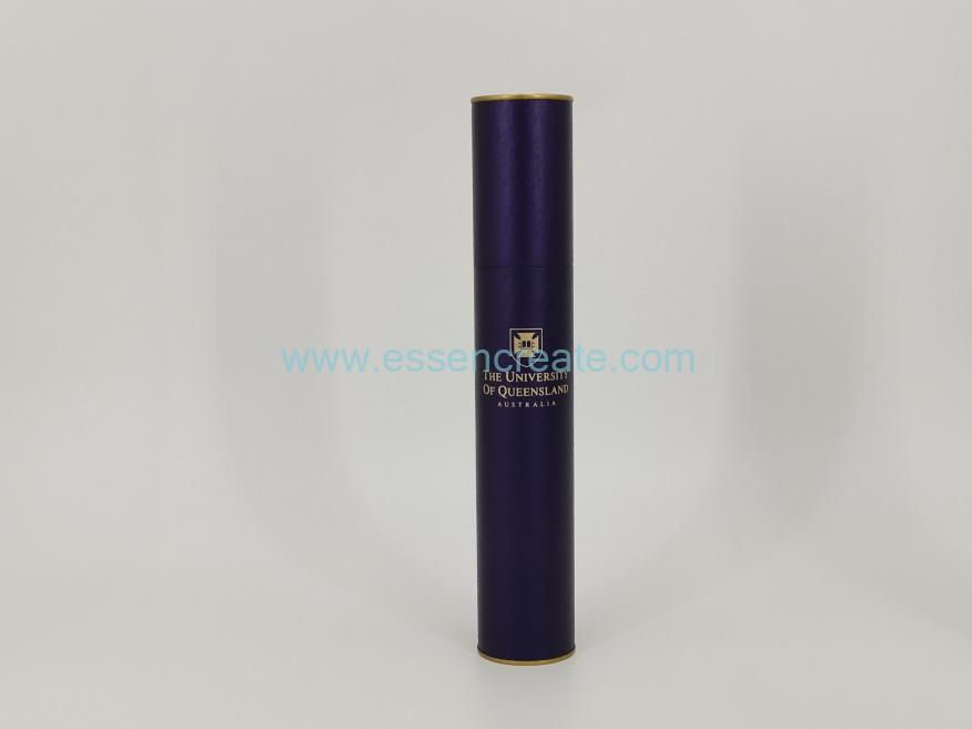 Paper Tube with Gold Tin End