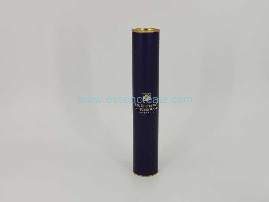 Tube Sealed with Gold Tin