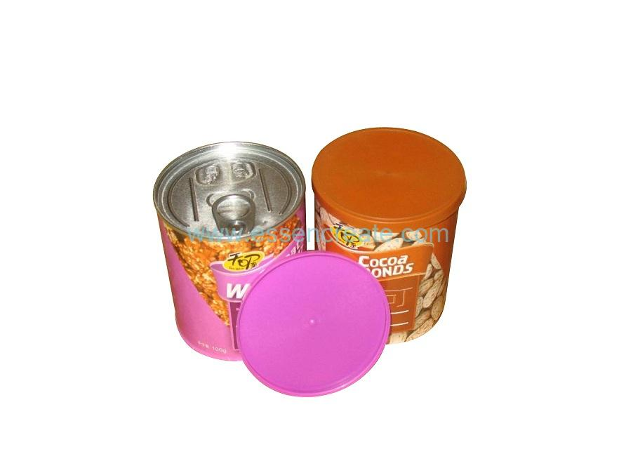 Non-toxic Food Grade Paper EOE Almonds Packaging Can