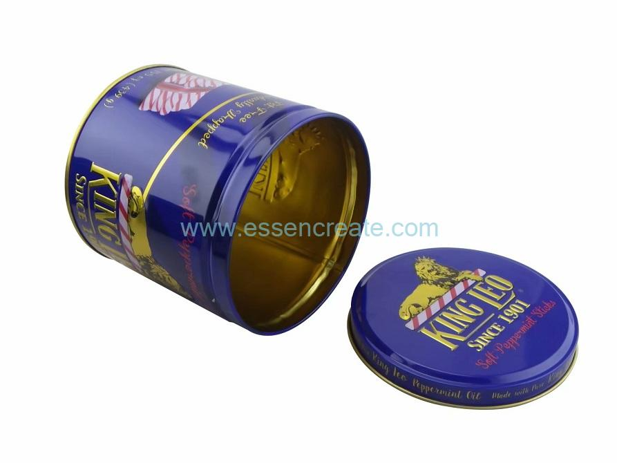 Snack Packaging Tin Cans