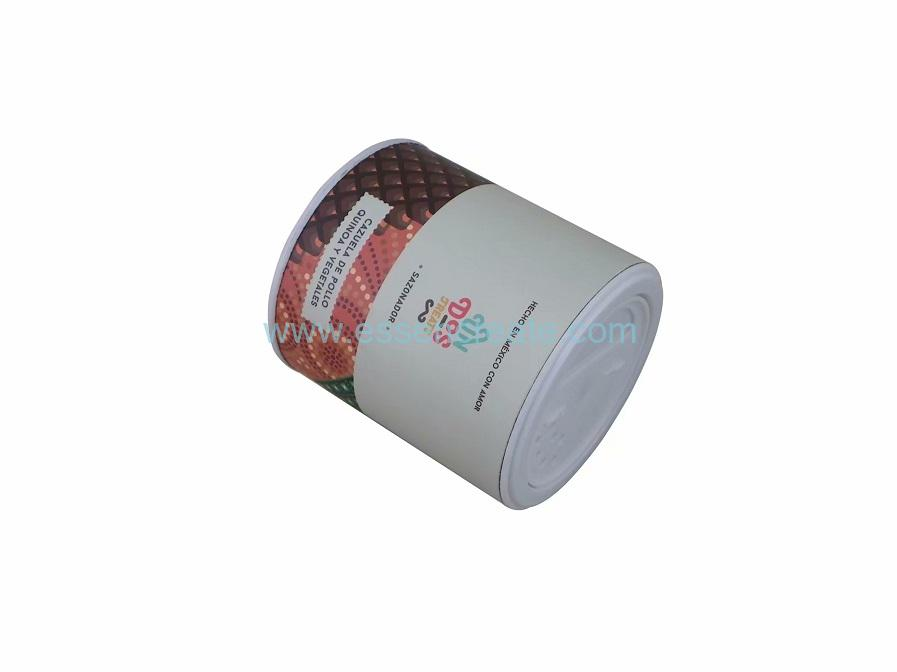 Cylinder Pet Food Packing Rotating Shaker Paper Canister