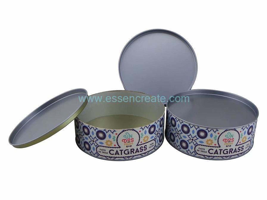 Paper Cans with Tinplate Lid