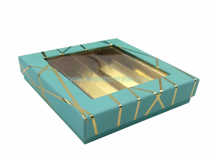 Lid and Base Gift Box with Window