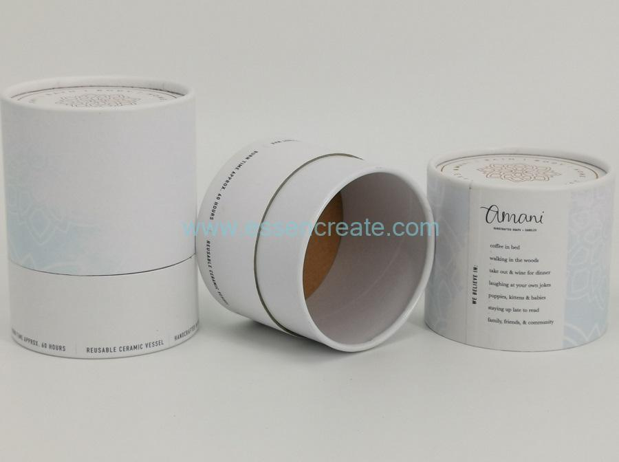 Round Cup Packaging Paper Tube