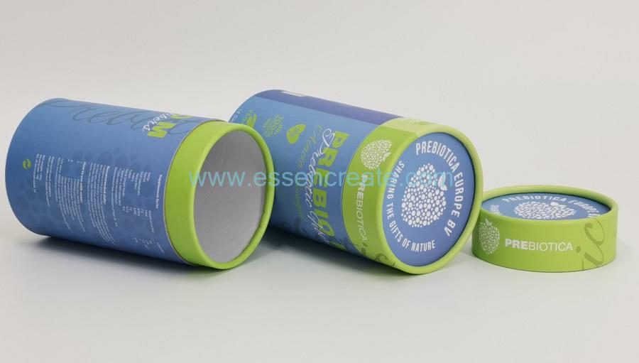 Honey Packaging Paper Cylinder Tube Box