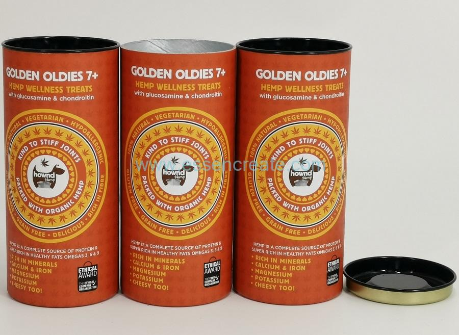 Medicine Glucosamine Chondroitin Packaging Paper Cans