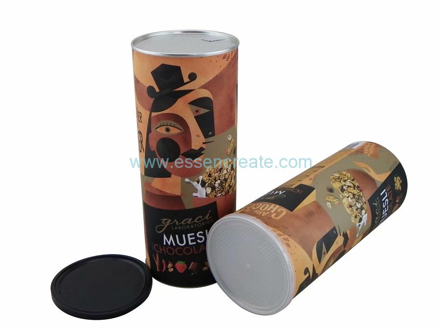 Cornmeal Packaging Non-toxic Food Grade Composite Paper Tube