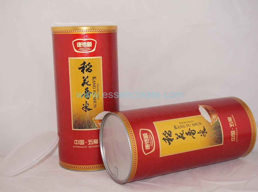 Wuchang Rice Packaging Cans with Al Foil Liner