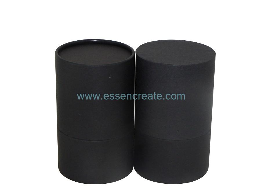 Rolled Edge Black Tube