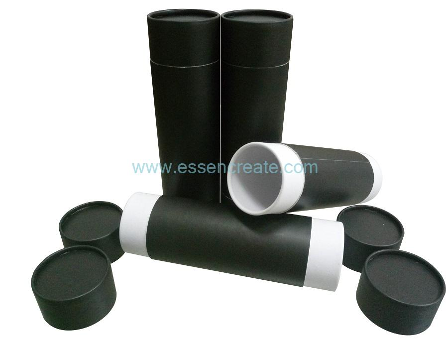 Both Sides Open Cylinder Rolled Edge Tube Packaging