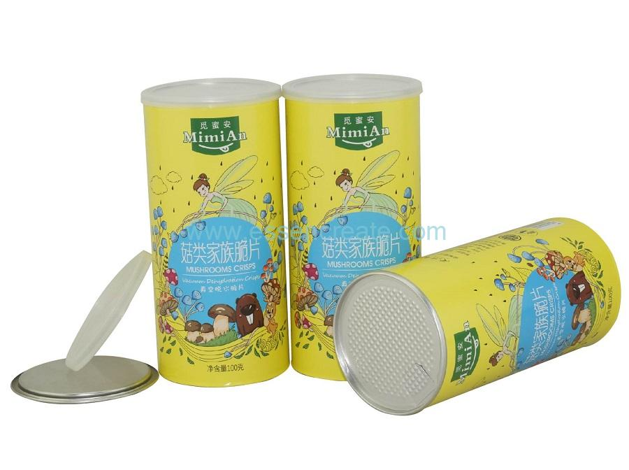 Paper Dried Food Packing Tube China