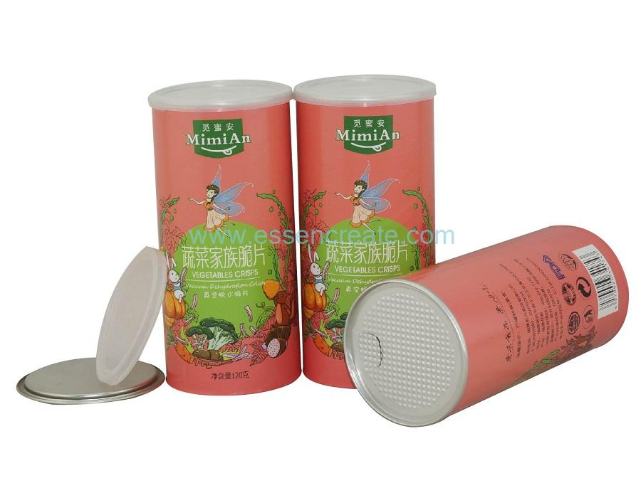 Paper Dried Food Canister Packaging Supplier