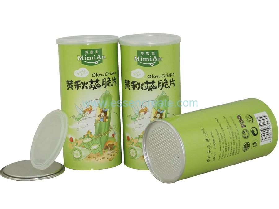 Custom Paper Cans Packaging