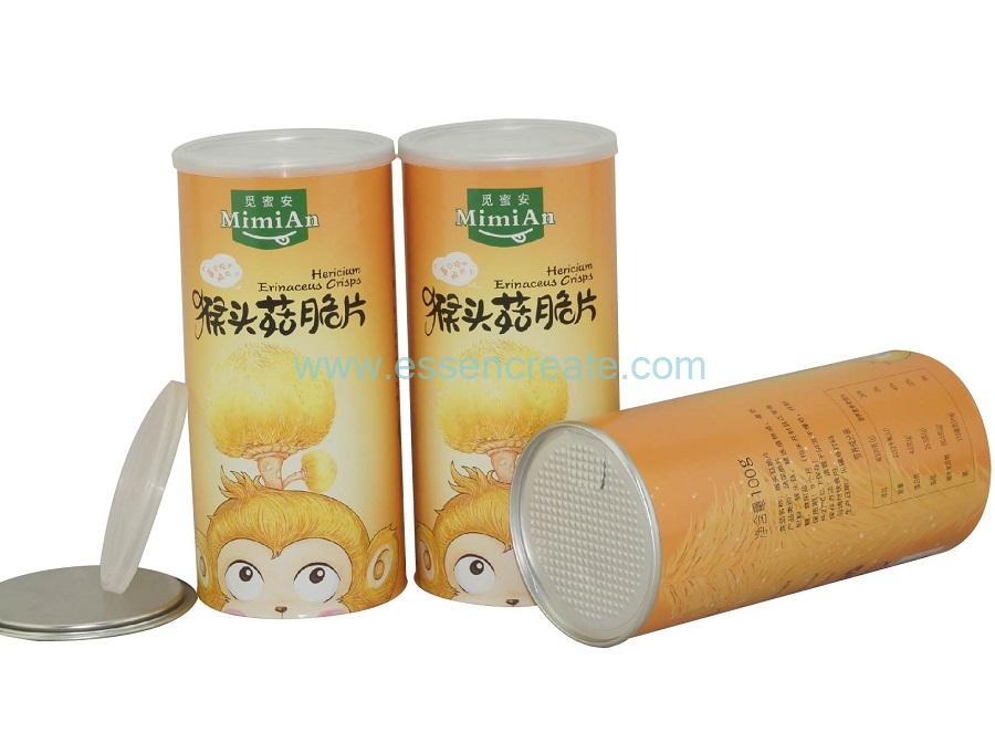 Paper Composite Airtight Canister