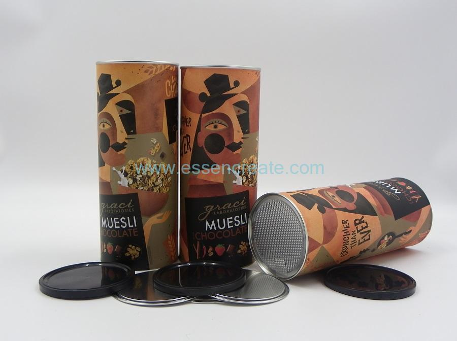 Cereals Packaging Paper Cans