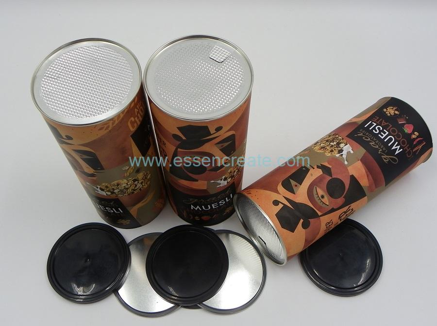 Sandwich Biscuit Packaging Paper Tube