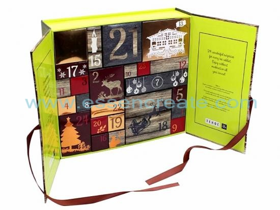Christmas Advent Calendar Packaging Gift Box