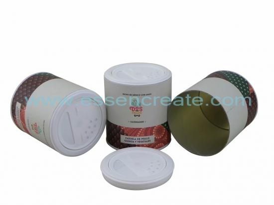 Pet Food Rotating Shaker Paper Canister