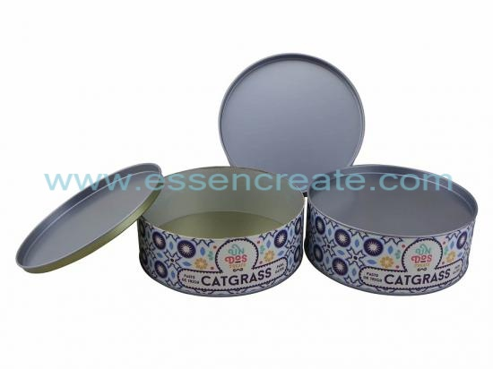 Catgrass Packaging Paper Can