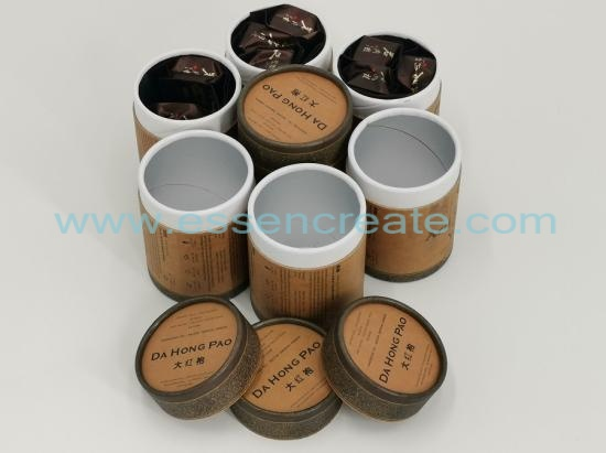 Da Hong Pao Rock Tea Packaging Paper Cans