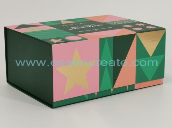 Folding Christmas Chocolate Packing Gift Box