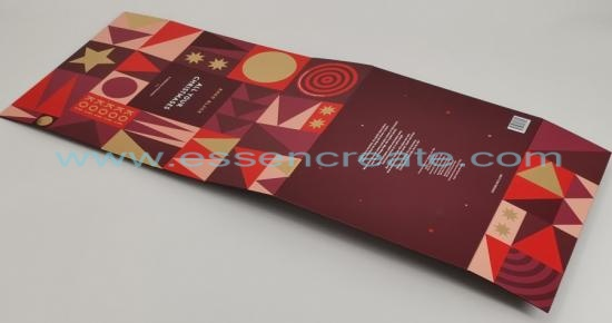 Foldable Christmas Chocolate Packing Gift Box