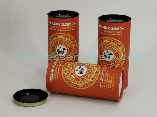 Pet Medicine Glucosamine Chondroitin Packaging Paper Cans