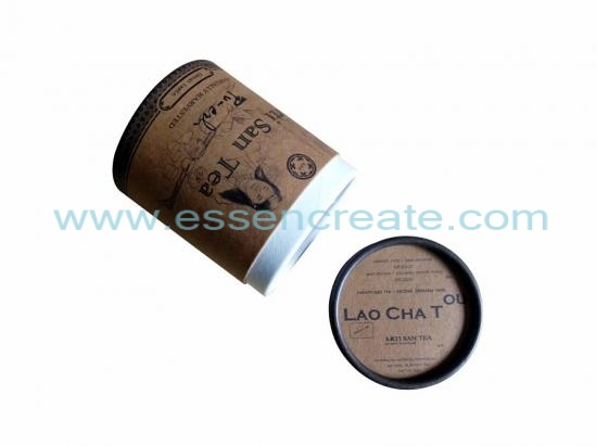 Cylinder Tea Packaging Paper Tube Box