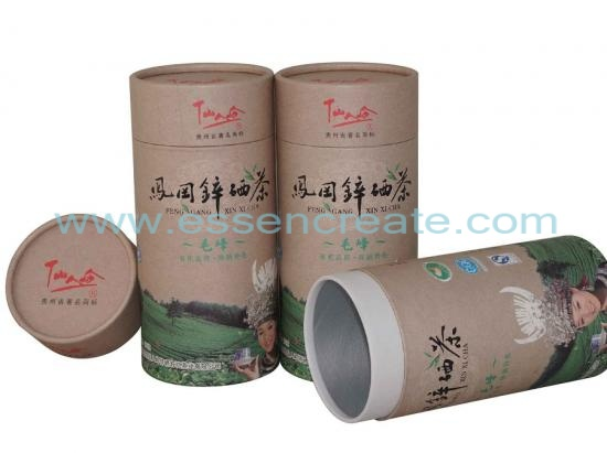Tea Packaging Paper Canister