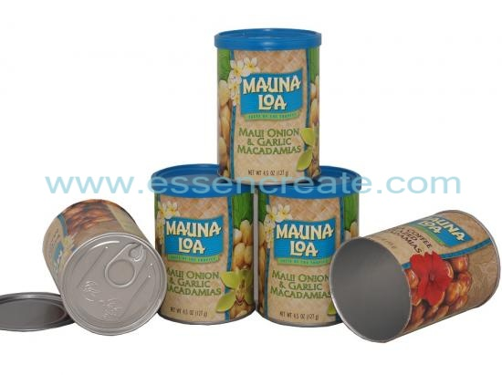 Canister Packaging Paper Tube