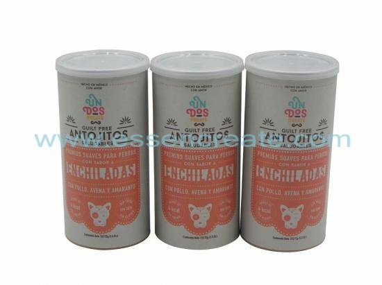 Dog Food Antojitos Packaging Paper Cans