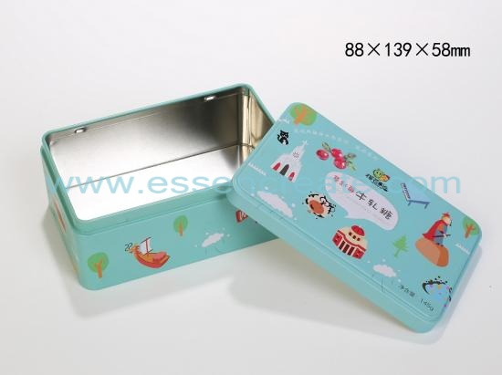 Nougat Packaging Metal Tin Cans